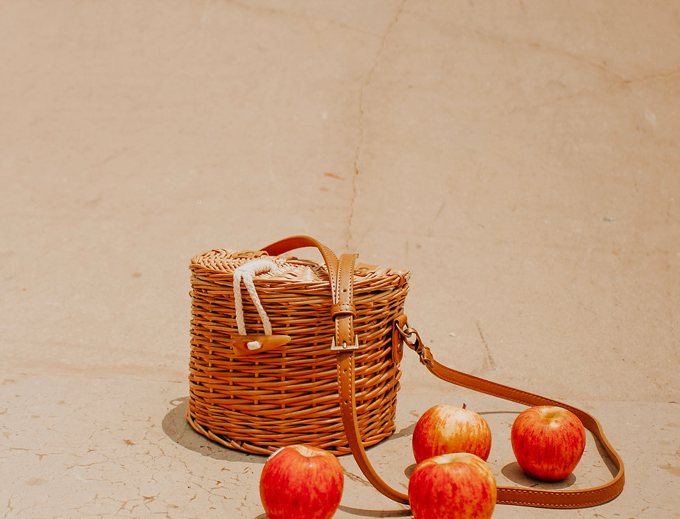 Nolita Rattan Basket Bag