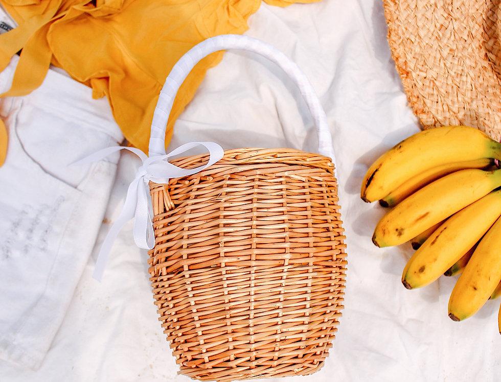 Kels Ribbon Tie Basket