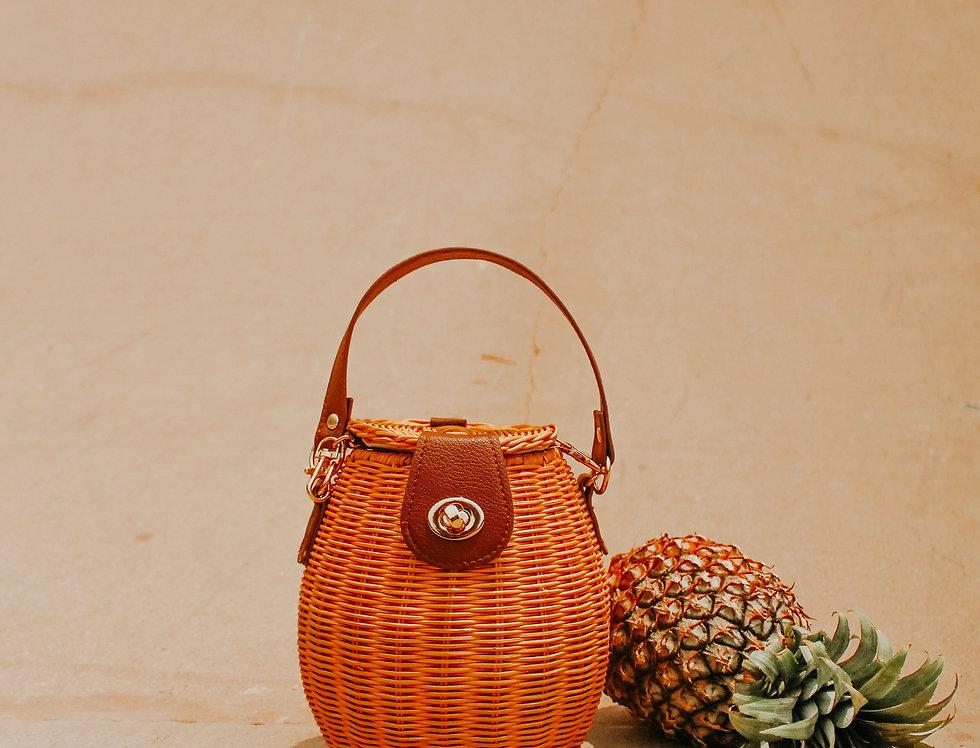 Talita Rattan Latern Bag