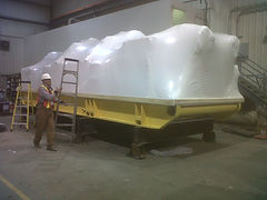 White Poly Shrink Wrap Calgary Alberta