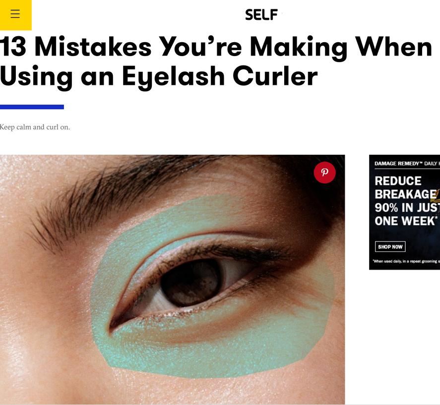 Lash Curler Mistakes