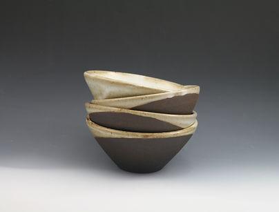 glazed over ceramics orinda entree bowl