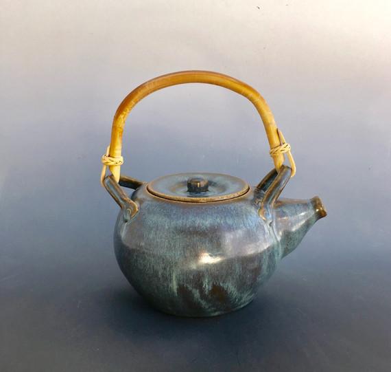 Wheelthrown teapot by Glazed Over Ceramics Orinda