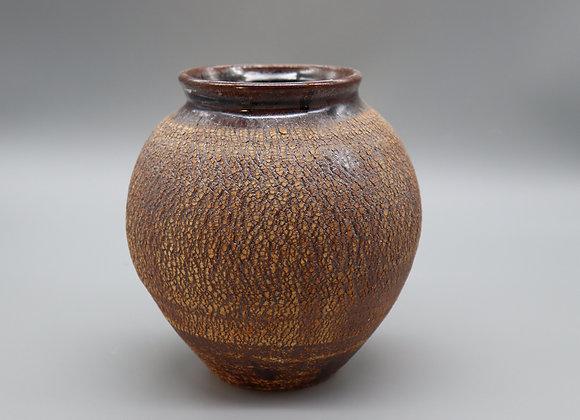 8 inch crackle vase