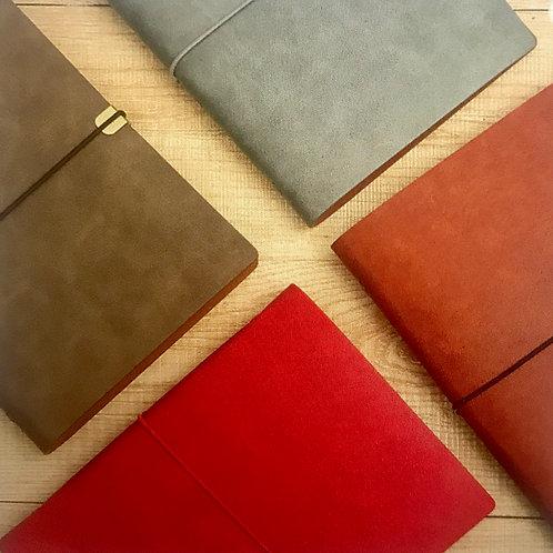 Leather Look Slim line Binder