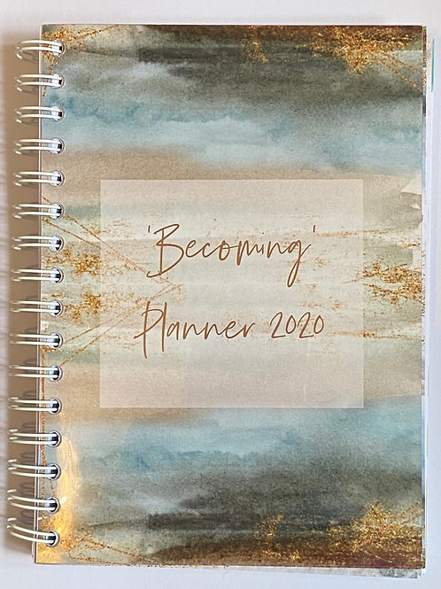 Becoming Life Planner (Wiro Bound)