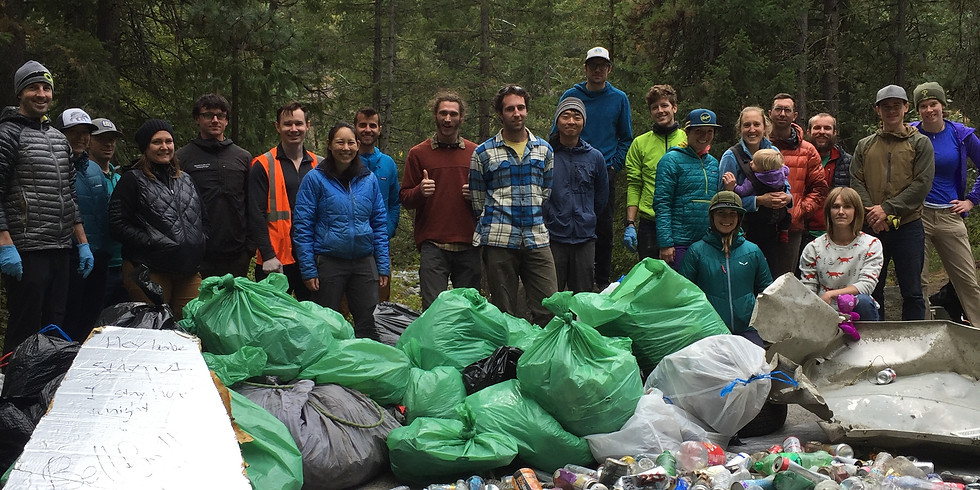 Icicle Canyon Cleanup 2020