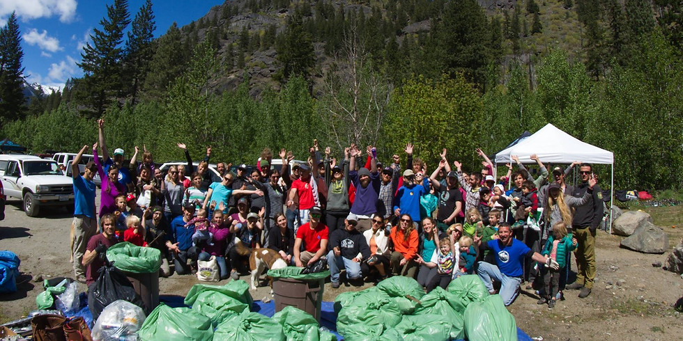 Icicle Canyon Cleanup 2019