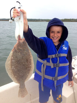 first flounder of 2015