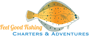 Logo for Feel Good Fishing Chartes & Adventures