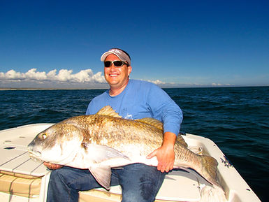Black Drum Charter Fishing Wilmington North Carolina