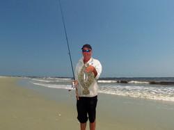 Flounder, Carolina Beach Inlet.