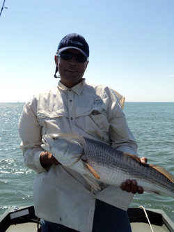 Red Drum south of Masonboro Inlet.