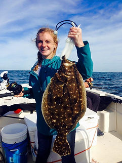 Flounder Charter Fishing Wilmington NC area, Family Adventures and Nature Tours