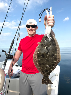 nice offshore flounder. May 2017