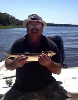 River Lady fish. 7 Sept 2013