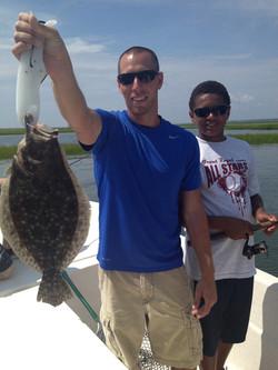 Summer flounder.