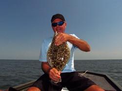 Mark and flounder.
