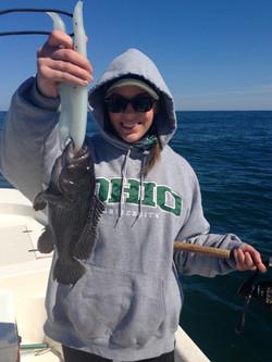 Black Sea Bass. March 2015