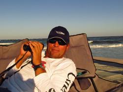 Bird watching at Carolina Beach.