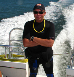 My diving instructor days.