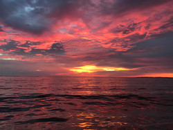 Sunrise over Masonboro Inlet Aug 201