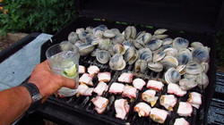 Grilled clams from this area.