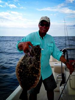 Nice flounder 5 pound 7 ounce.