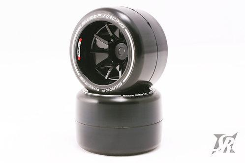 F21 Rear Hard Asphalt tires 2pcs