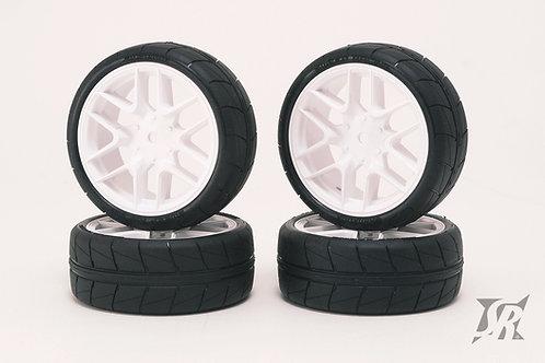 SSF-34AWPG Tread tires pre-glued set for Asphalt 4pcs