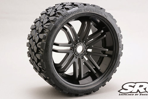 Terrain Crusher Black wheels pair