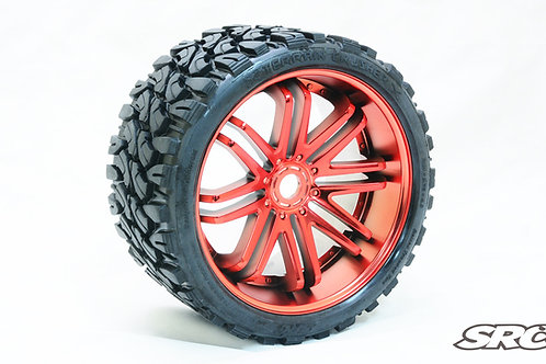 Terrain Crusher Red wheels pair
