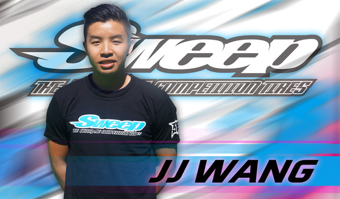 JJ Wang team up with Sweep Racing!!