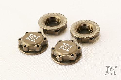 17mm Light weight wheel nuts Gray
