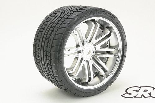 Road Crusher Silver wheels pair