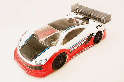 P2L GT8 Body shell