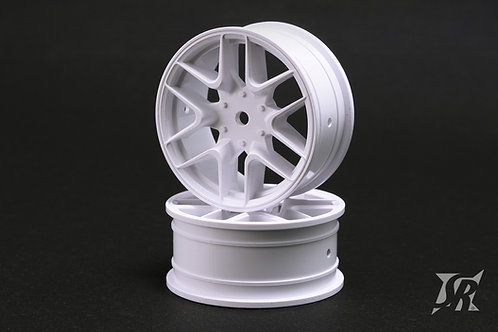 SSF-SWW 12 spoke wheels hard type white 4pcs