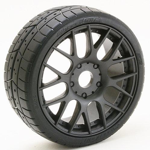 S40245EK16P GT8 Tread tires Black wheels 2pcs