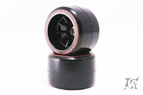 F21 Rear Soft Carpet tires 2pcs