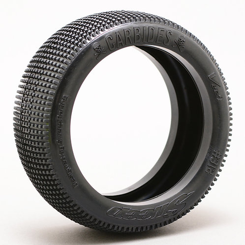 8th Buggy Carbides Pre-glued set tires 4pcs