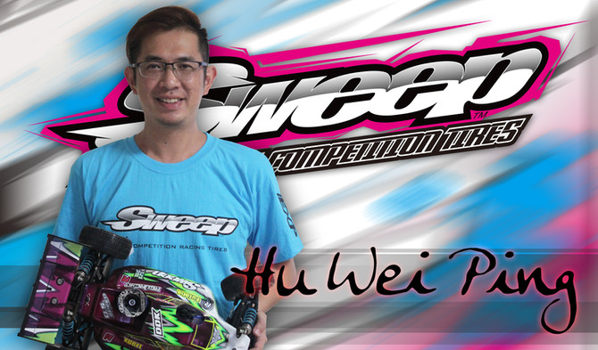 Hu Wei Ping join Sweep Racing off-road team.