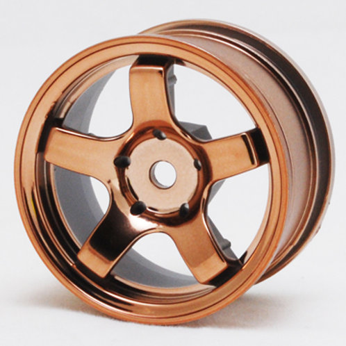 1/10th Mini wheels Bronze color