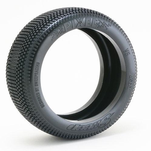 8th Buggy Pixel Pre-glued set tires 4pcs