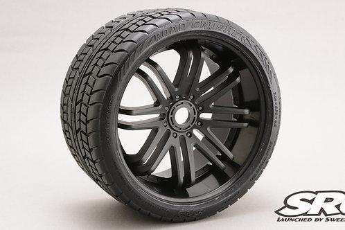 Road Crusher Black wheels pair