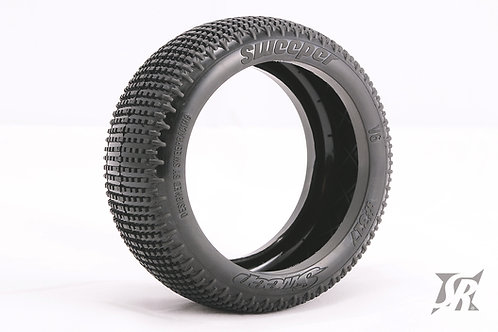 8th Buggy SWEEPER Pre-glued set tires 4pcs