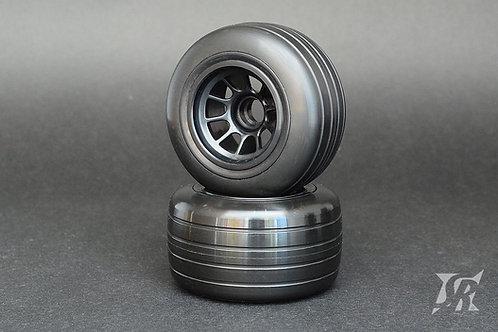 V4 Formila 1 Grooved tires