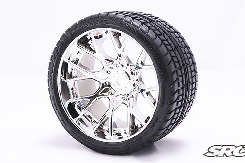 Road Crusher WHD wheels Chrome Silver pair