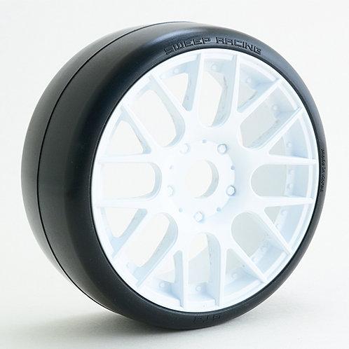 GTR2-50EW16P 1/8 GT Slick tires 2pcs