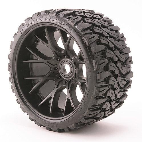 Terrain Crusher WHD wheels Black pair