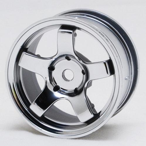 1/10th Mini wheels Silver color